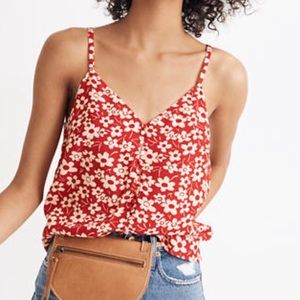 Negotiable Madewell Silk Button Down Cami